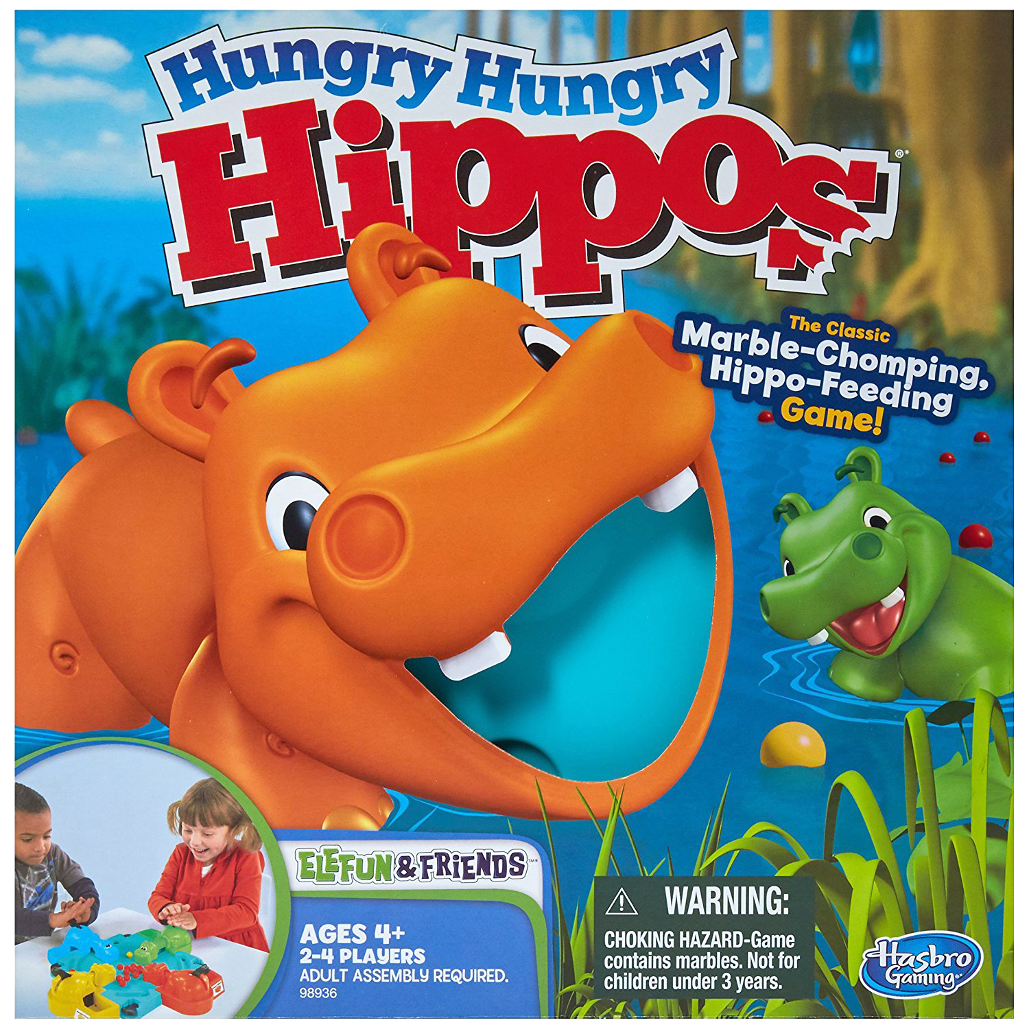board game box for kids hungry hungry hippo