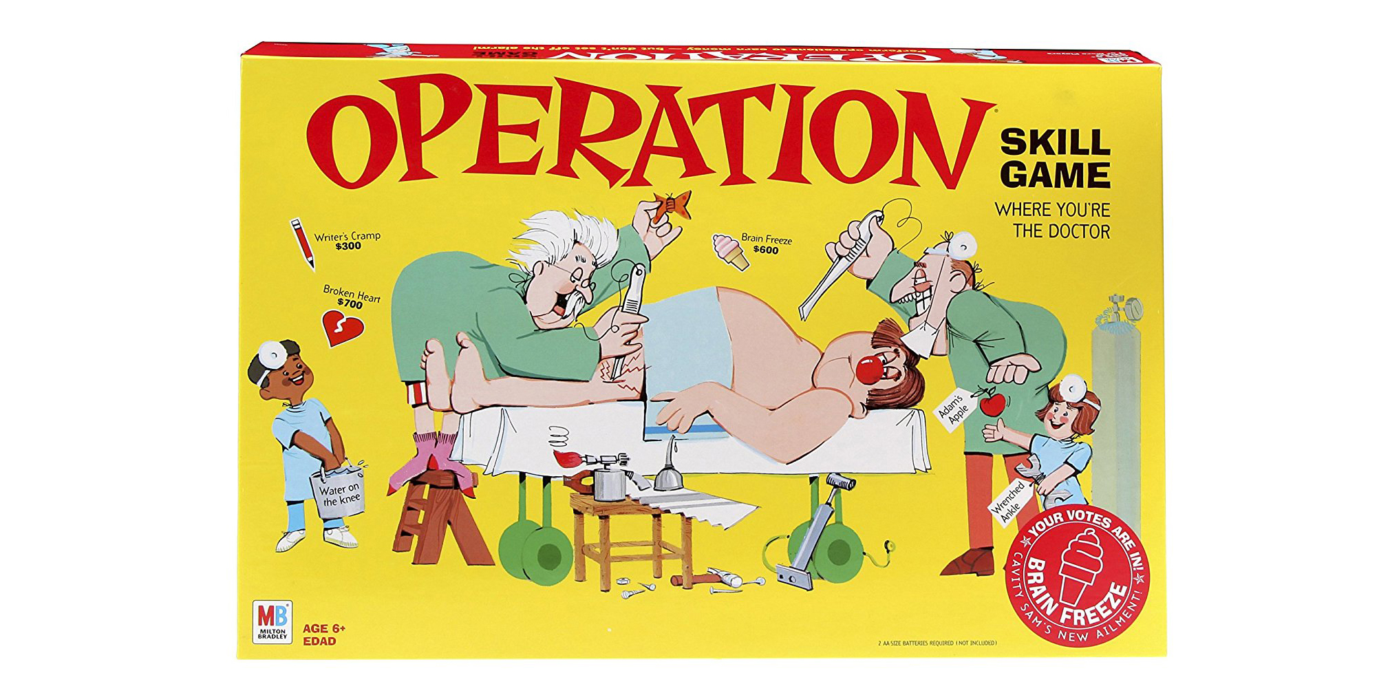 family board game operation