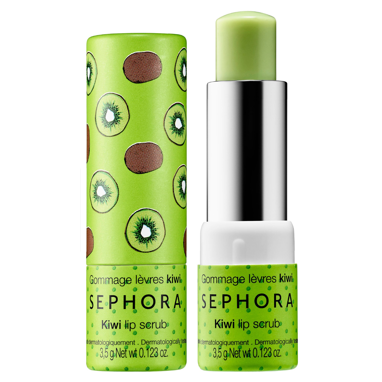 kiwi-flavored lip scrub by sephora