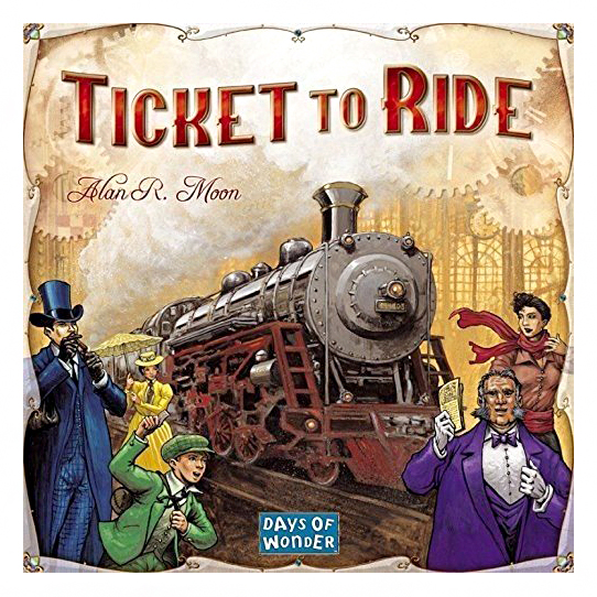board game box ticket to ride