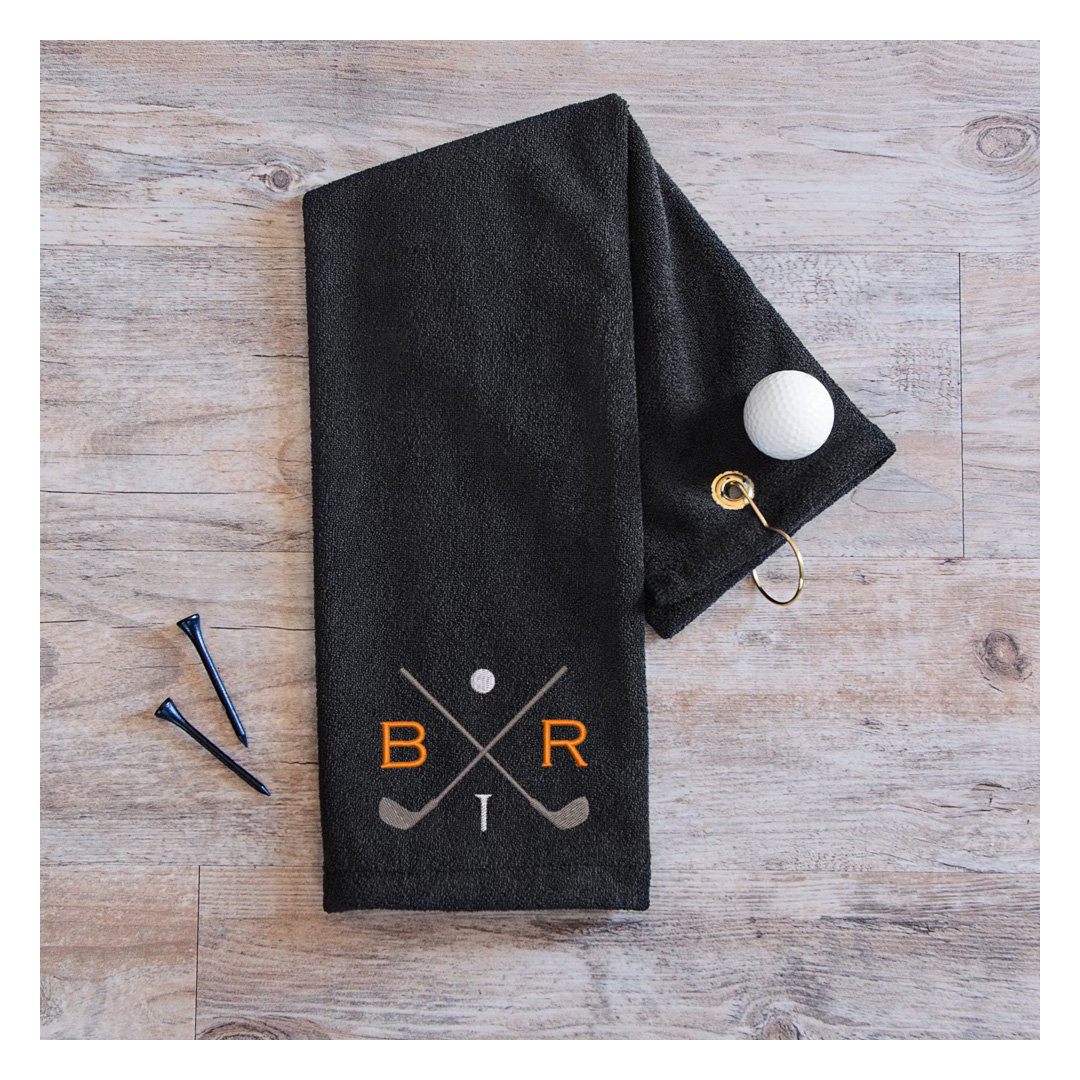 Personalized Golf Towel with hook