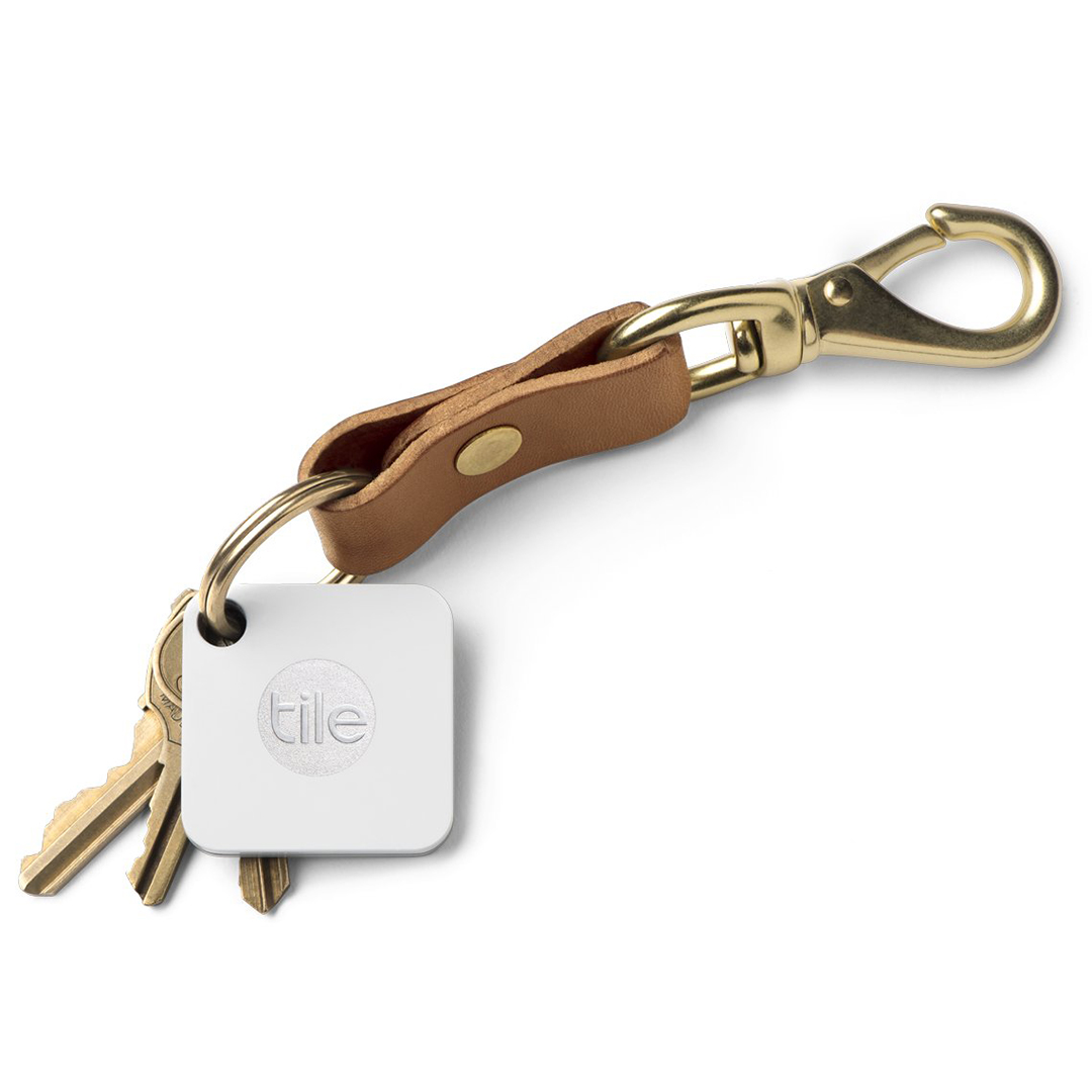 Tile Mate Key and Phone Finder Keychain
