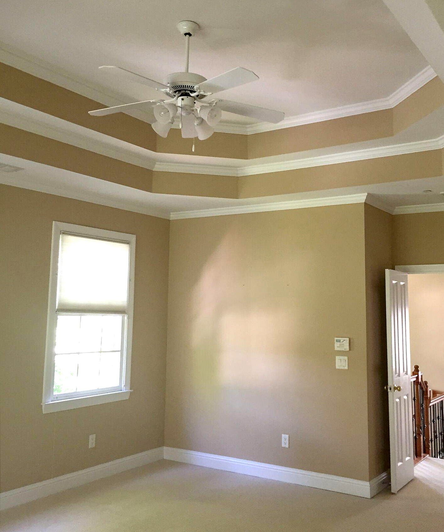 master bedroom before photo
