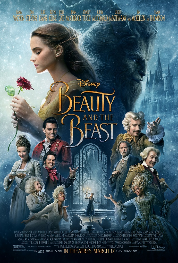 DVD cover of Beauty and the Beast