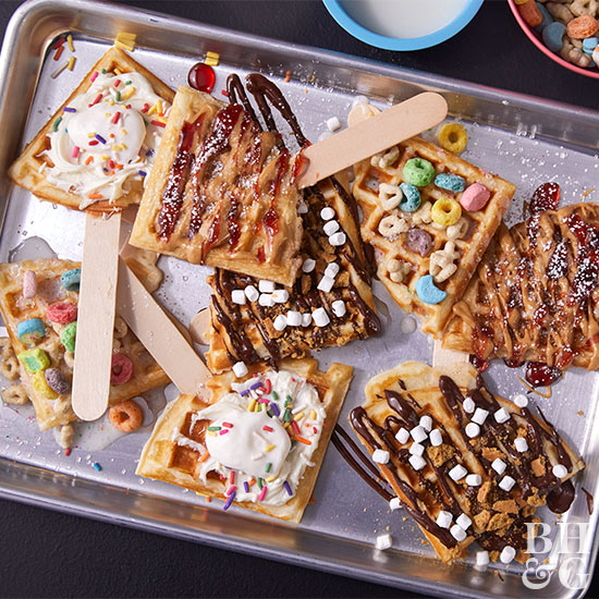 4 Ways With Waffle Pops