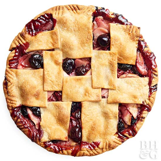 Apple-Double Cherry Pie