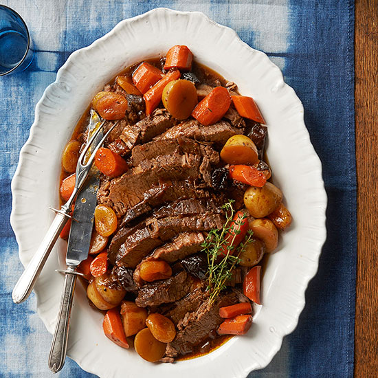 Beef Brisket with Dried Fruit