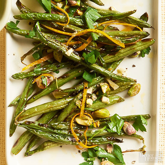 Blistered Green Beans Recipes By Sheri Castle of New Southern Garden Cookbook
