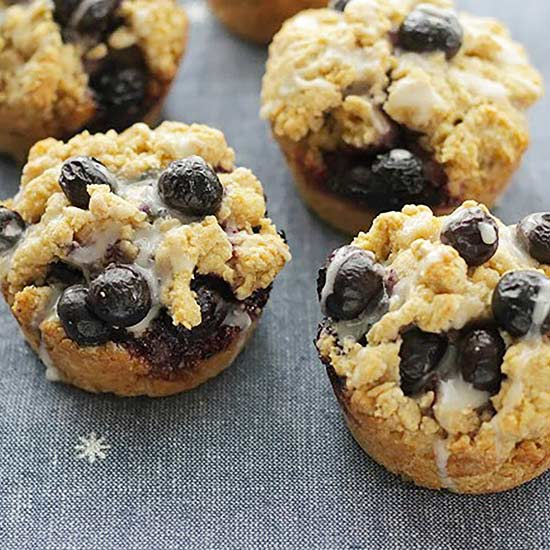 Blueberry Cream Muffin-Tin Scones Amy Palanjian of Yummy Toddler Food