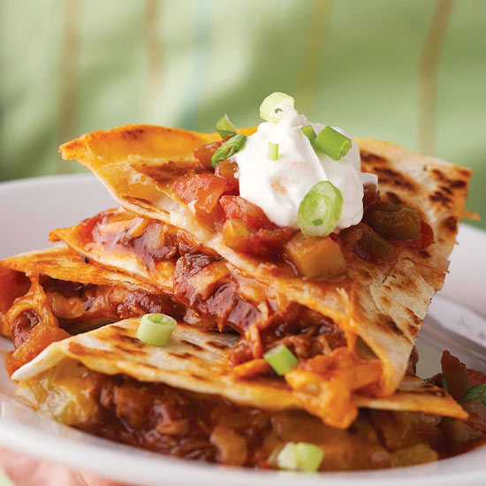 Barbecue Quesadillas