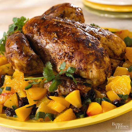 Roasted Chicken with Citrus Salsa