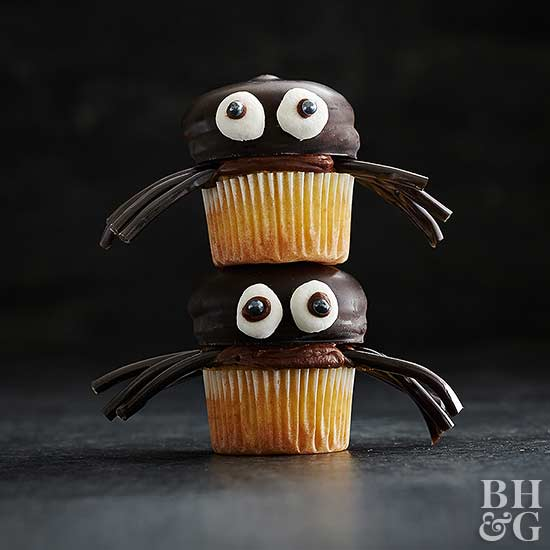 Chocolate Spidey Cupcakes
