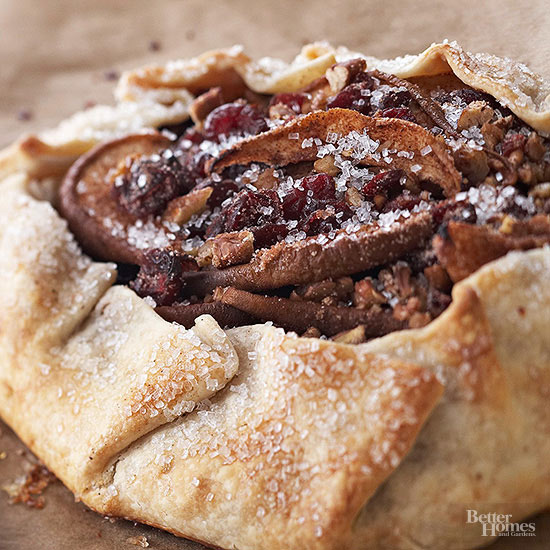 Country-Style Pear and Mincemeat Tart
