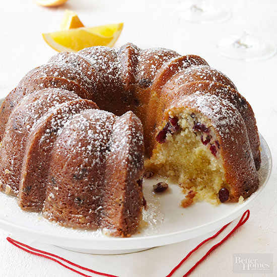 Cranberry Orange Bundt Cake Recipe By Julianne Bayer of Beyond Frosting