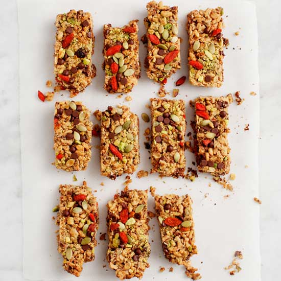 Goji Berry Peanut Butter Granola Bars Jeanine Donofrio of Love & Lemons