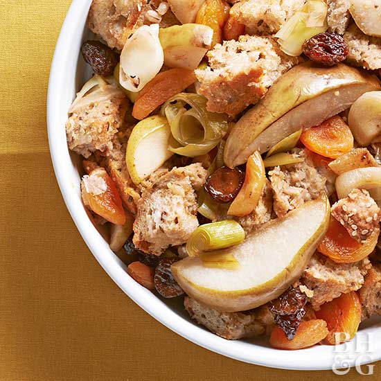 Harvest Fruit and Cheese Stuffing