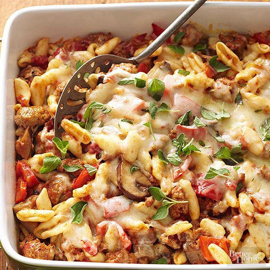Healthy Baked Cavatelli