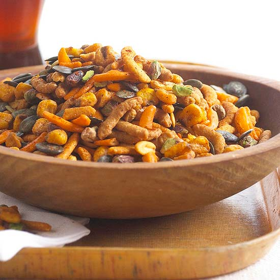 Hot and Spicy Snack Mix