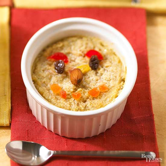 Smiling Baked Oatmeal