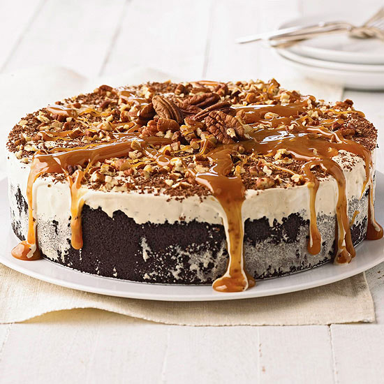 Coffee-Mallow Torte