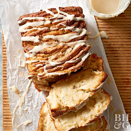 Maple-Pear Pull-Apart Bread