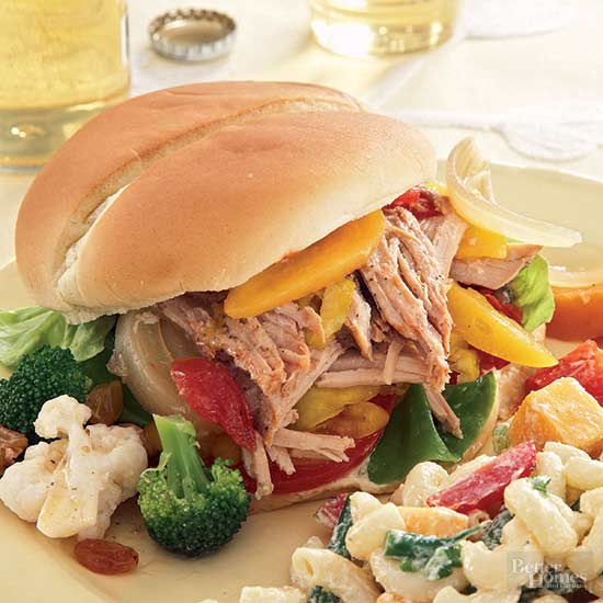Pulled Pork and Peaches