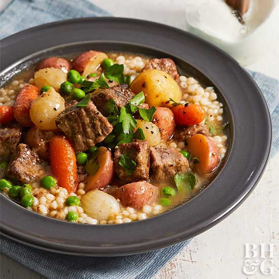 Pressure Cooker Country Lamb Stew