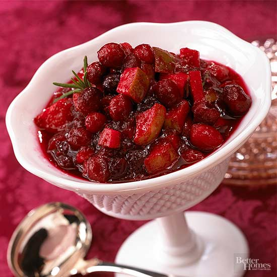 Cranberry-Pear Relish