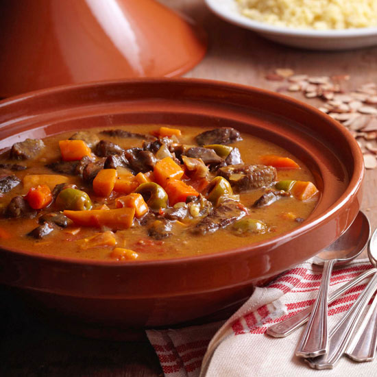 Slow Cooker Moroccan Lamb Tagine