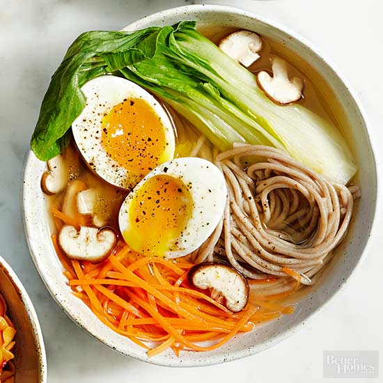 Egg and Soba Noodle Bowl Recipe by David Joachim