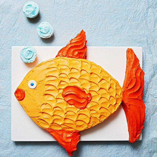 Groovy Tropical Fish Cake Better Homes Gardens Funny Birthday Cards Online Overcheapnameinfo