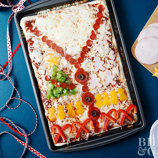 Ugly Sweater Pan Pizza