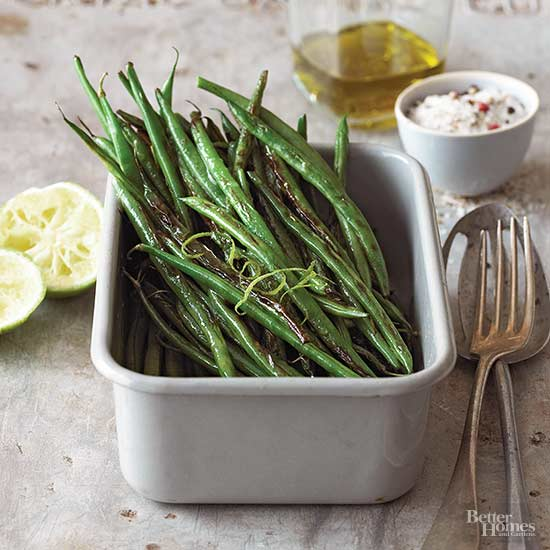 Green Beans with Limes