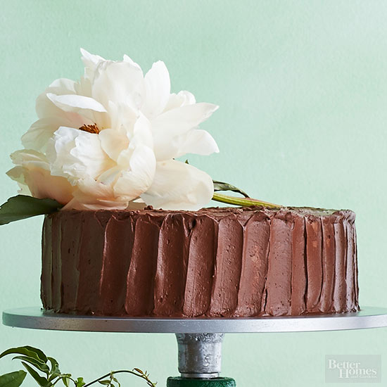 Yellow Cake with Salted Chocolate Ganache Recipe by Beth Kirby of Local Milk