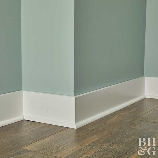Painting And Staining Baseboards Better Homes Gardens
