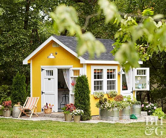 Build The She Shed Of Your Dreams Better Homes Gardens