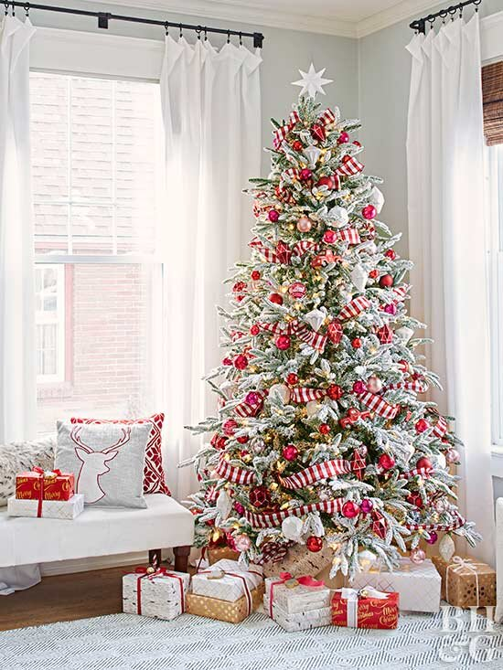 Christmas Tree Decorated.46 Stunning Ways To Trim Your Christmas Tree