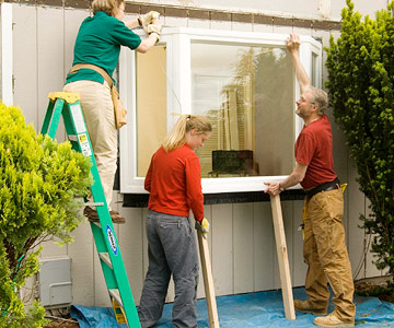 Installing A Bay Window Better Homes Gardens