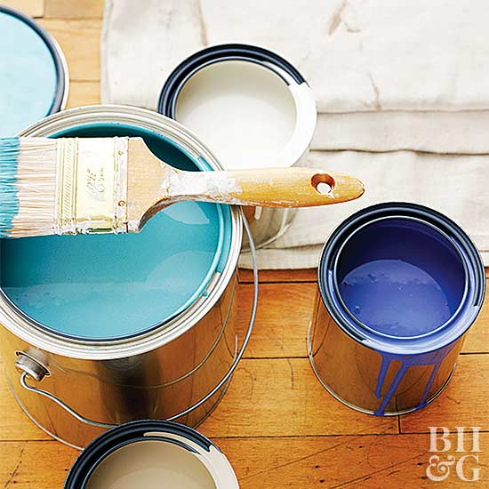 Head to the paint store