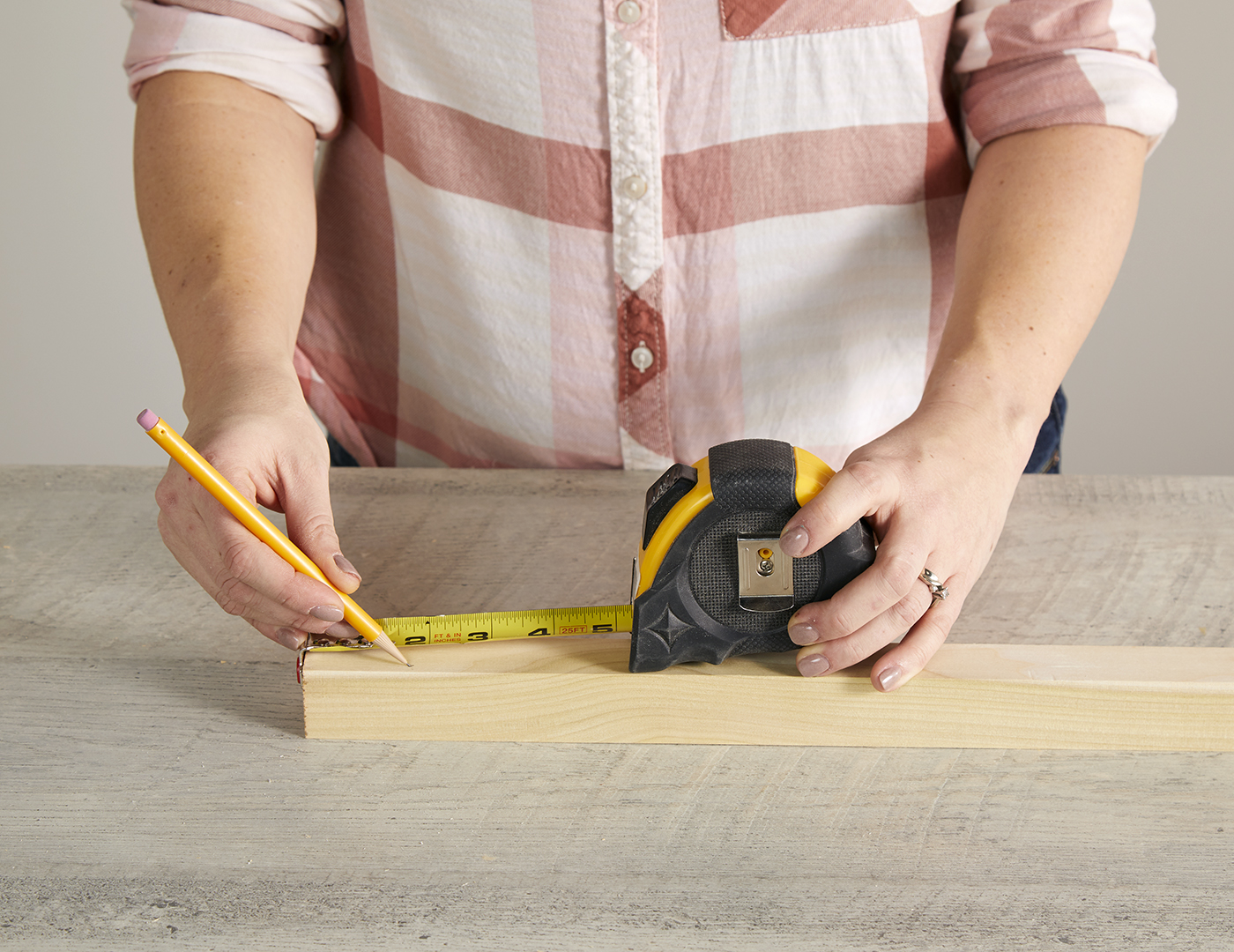 measuring lengths for dowel cuts