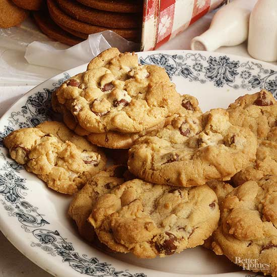 New England Chocolate Chip Cookies