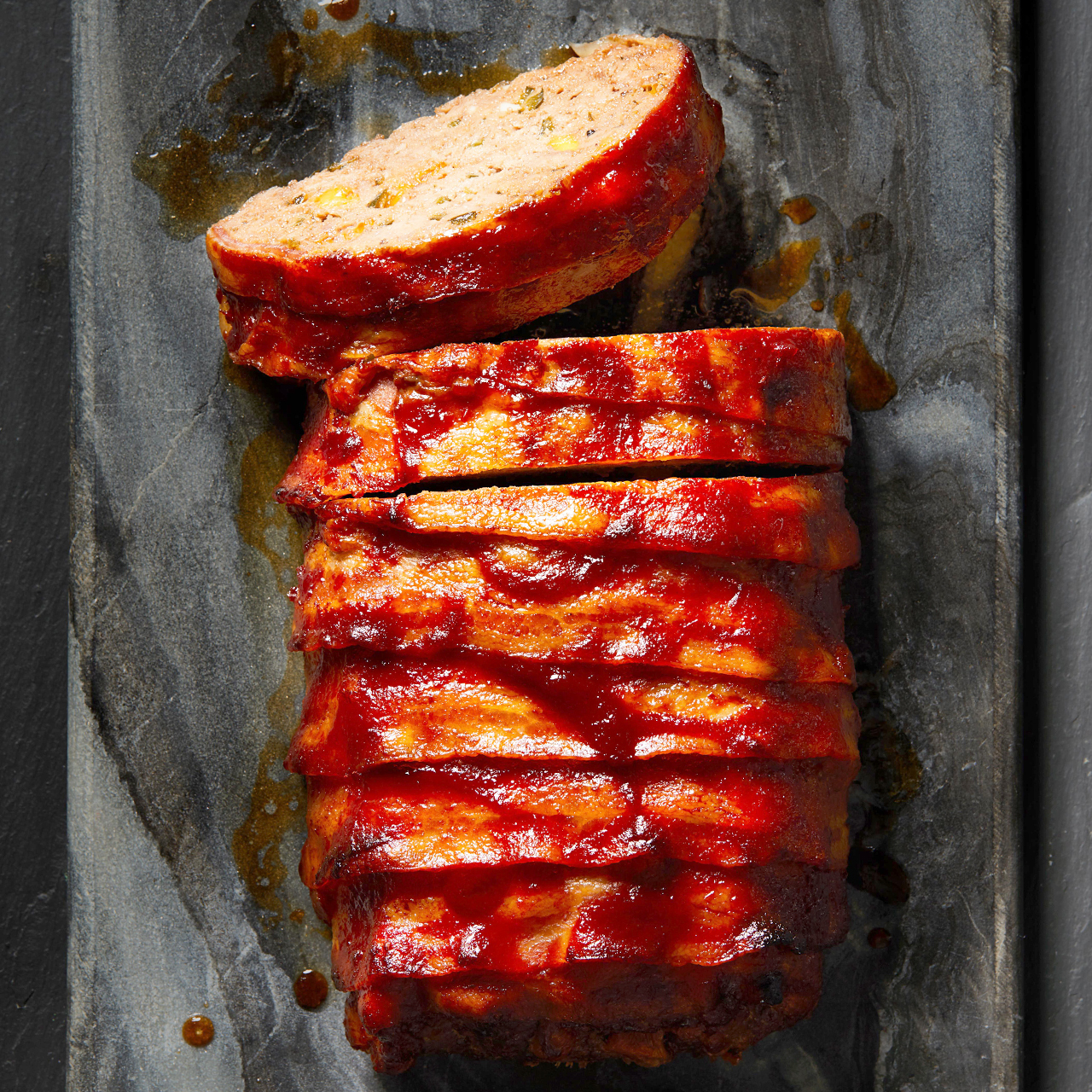 Cheesy Bacon-Wrapped Meat Loaf