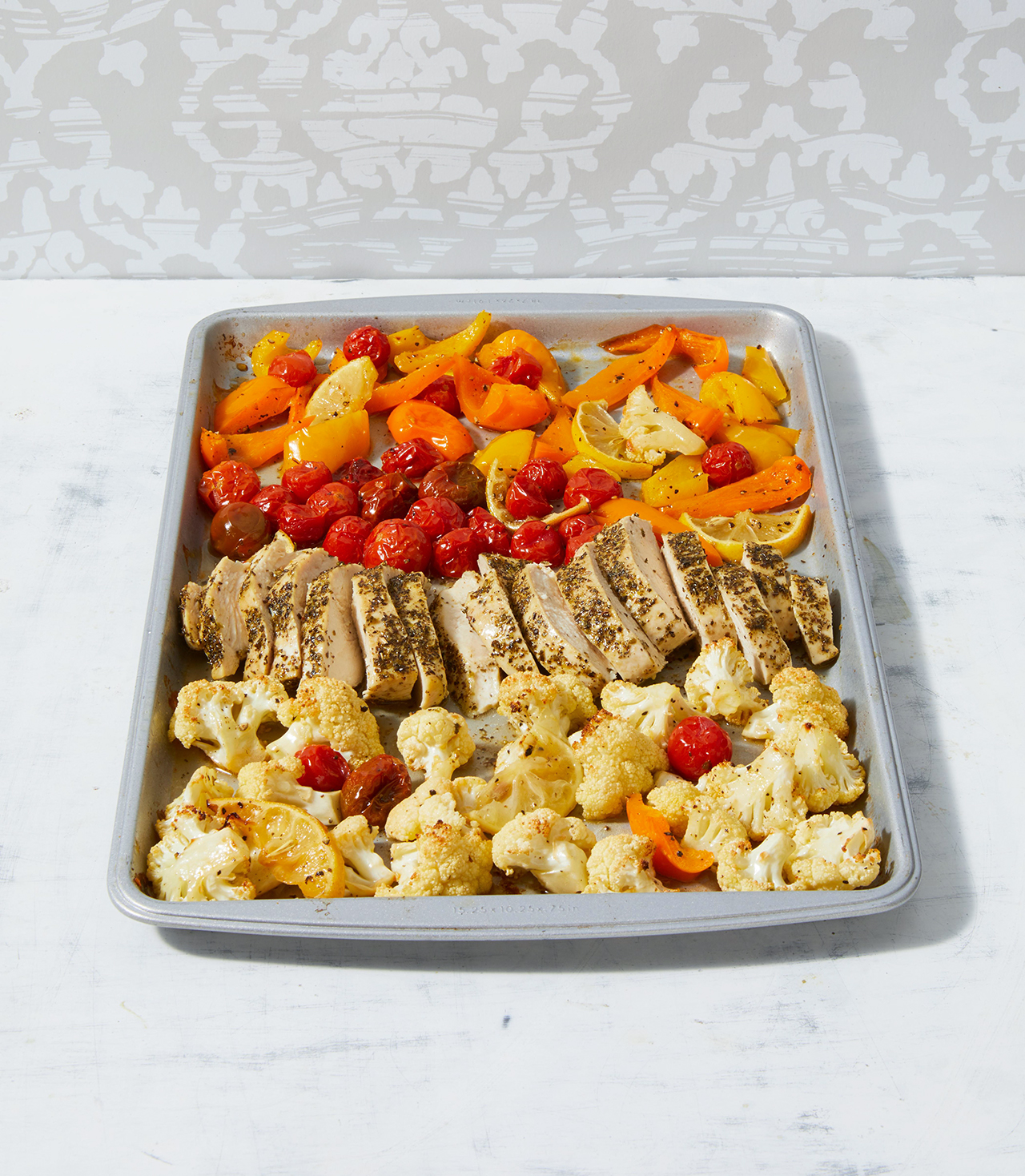 Greek Chicken and Vegetable Sheet Pan Dinner