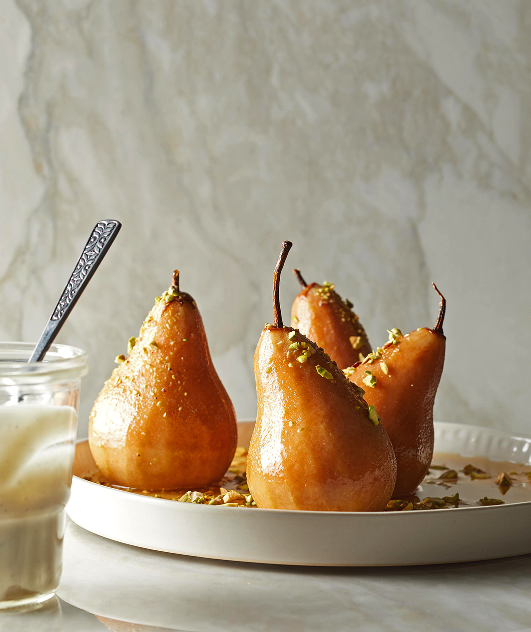 Cider-Poached Pears in the Slow Cooker or Pressure Cooker