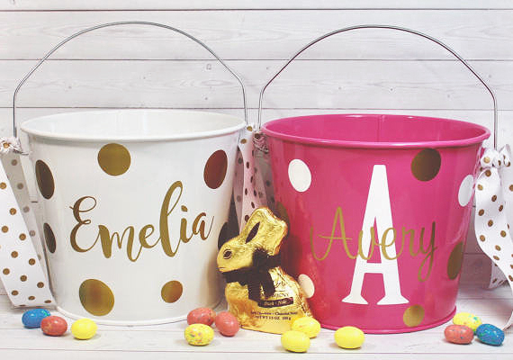 Personalized Names Easter Baskets