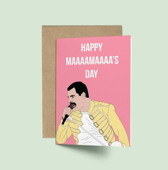 mother's day card says happy maaamaaa's day