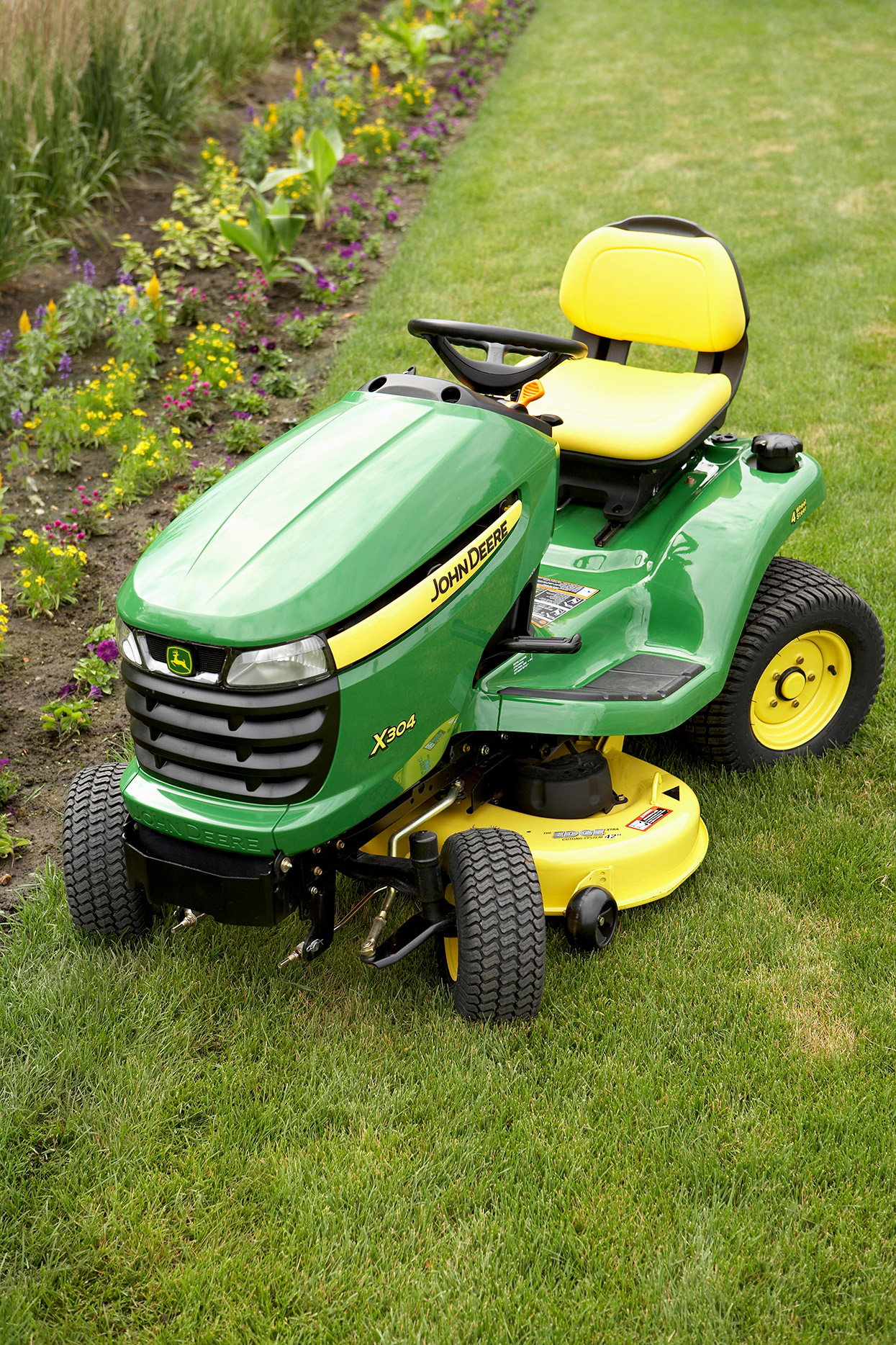 john deere riding power mower