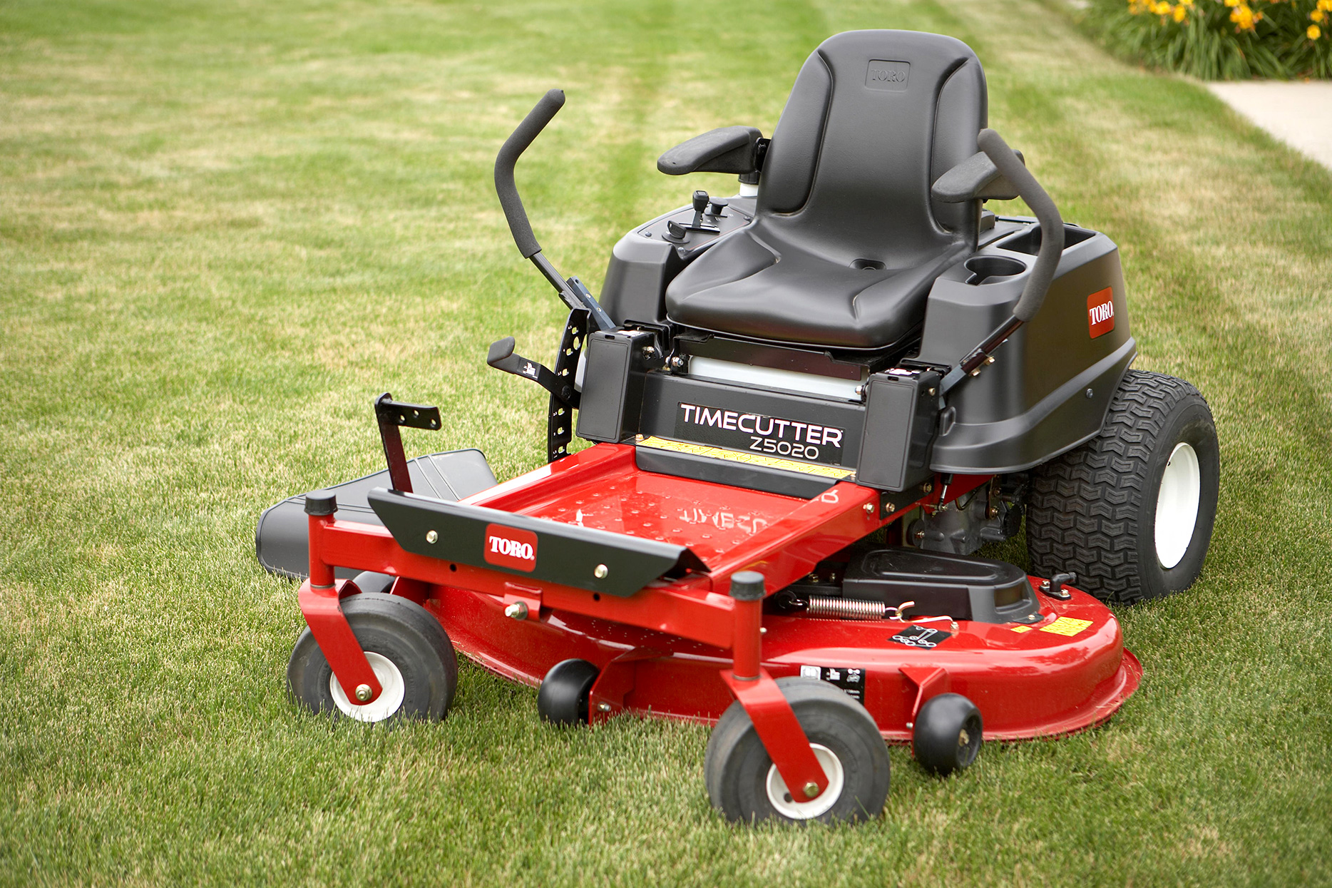 red toro time cutter riding mower