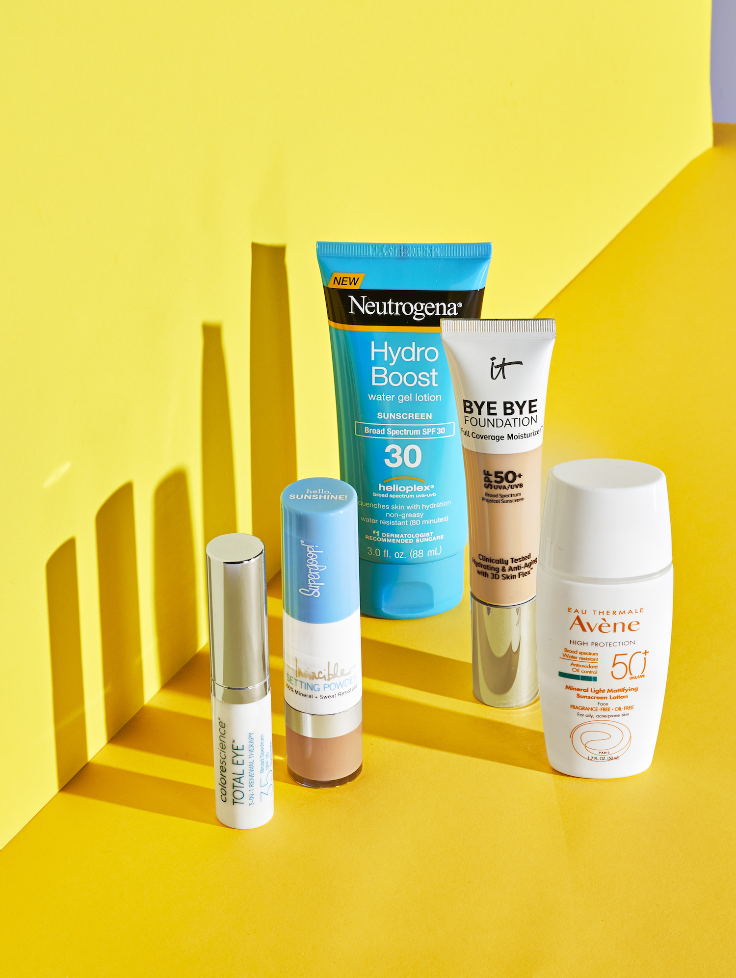 Summer SPF products