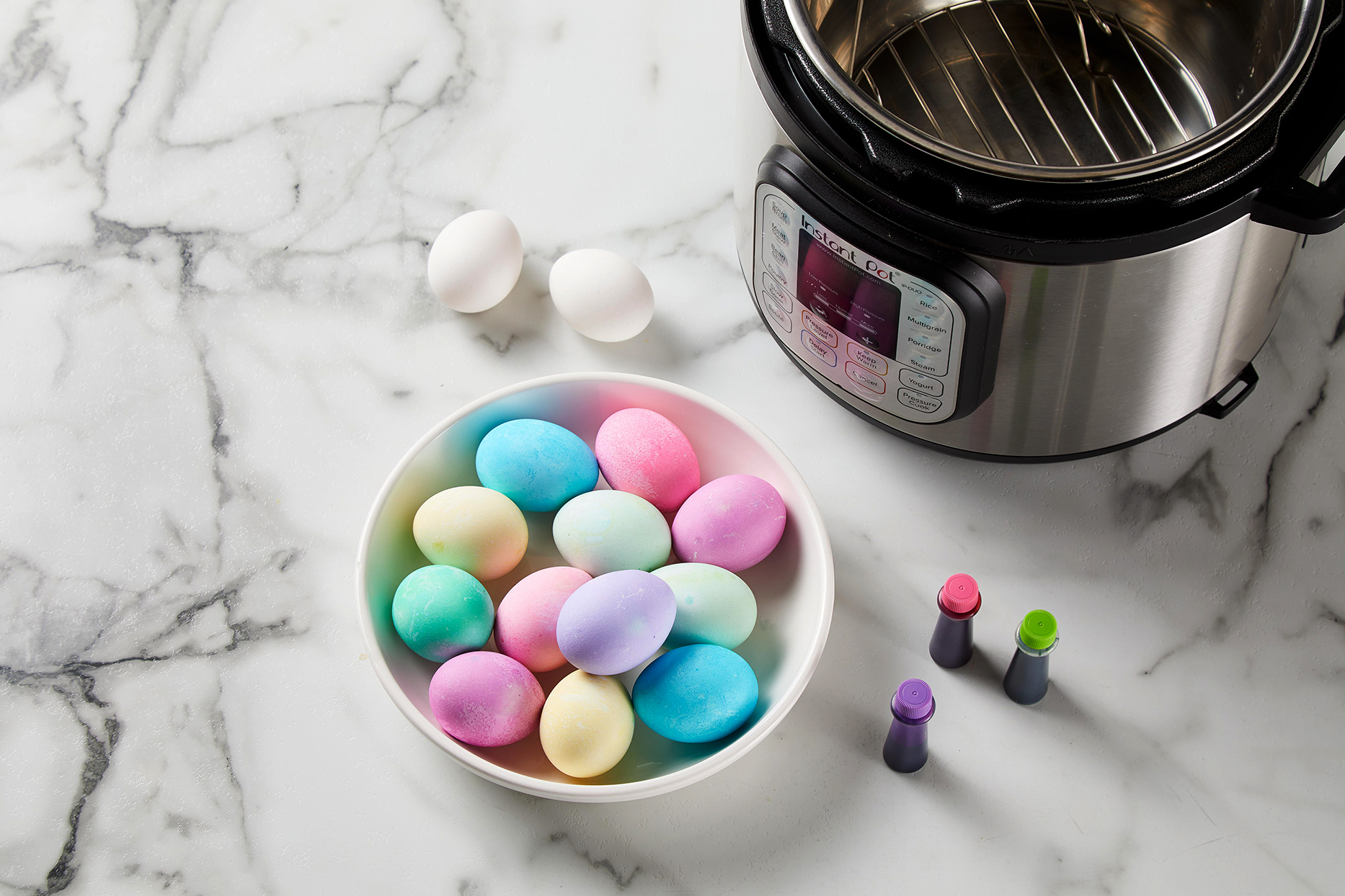 Instant Pot Dyed Eggs